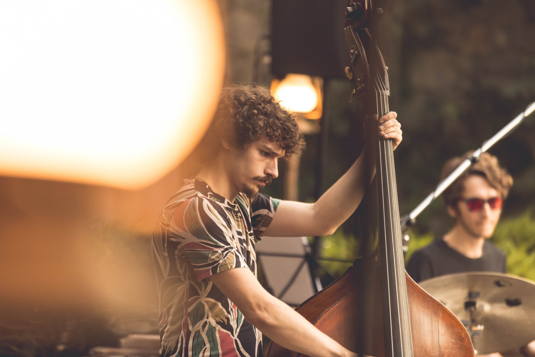 Michael Acker on Upright bass