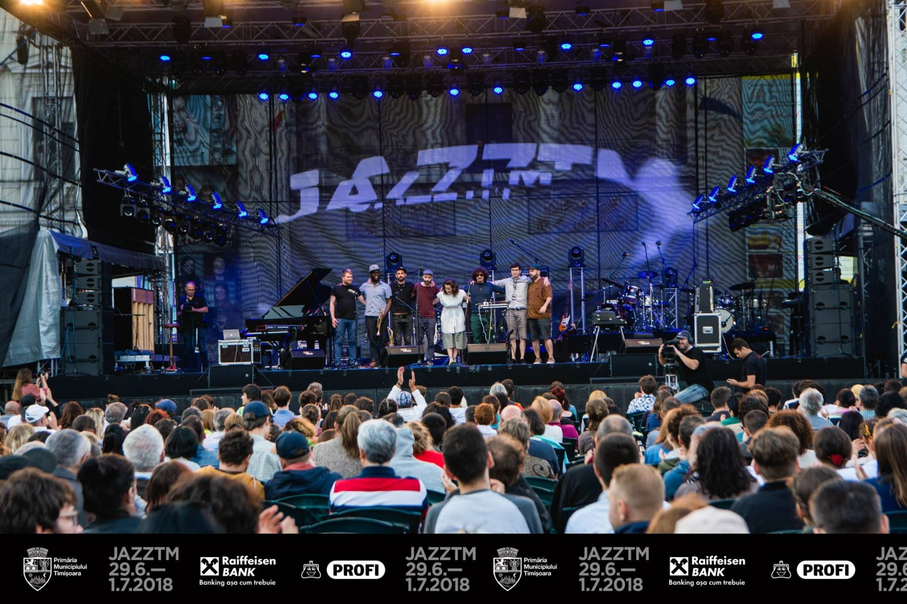 Michael Acker with A-C Leonte and The Jam Community, live @ Jazz TM