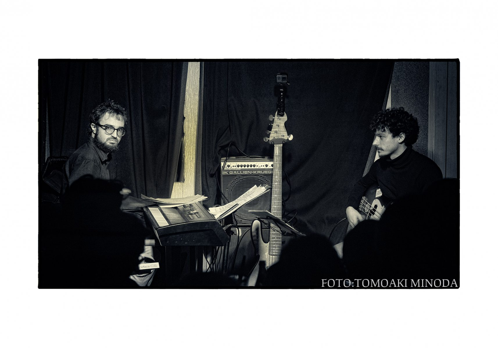 Michael Acker - Duo gig with Toma Dimitriu. One Love